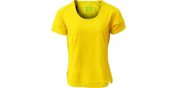 Dámské žluté tričko ALEA