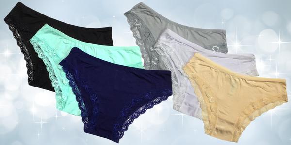 Balení 2 nebo 3 kusů dámských kalhotek