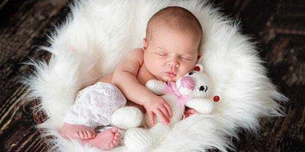 Těhotenské a novorozenecké fotografování