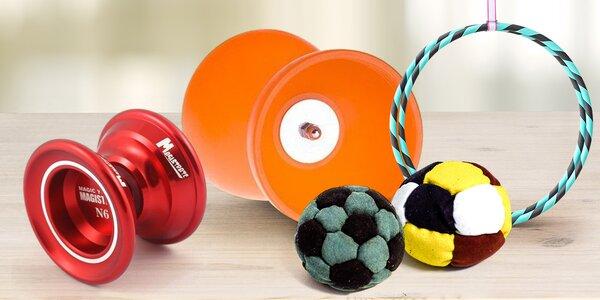 Hračky, co vás rozhýbou: Yoyo, Footbag a další