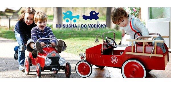 Zapůjčení retro šlapacích autíček Baghera pro děti 2-6 let