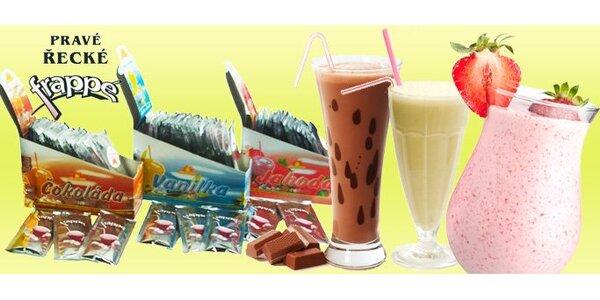 139 Kč za 20 sáčků směsi pro přípravu lahodného nápoje milk shake.