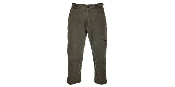 Pánské šedé 3/4 kalhoty Hannah