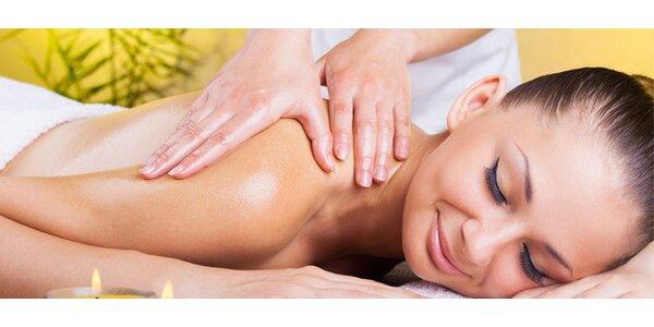 Hodinová masáž dle výběru od klasické po čokoládovou