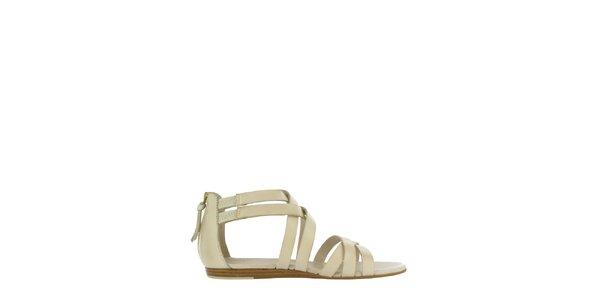 Dámské bílé sandály Flip Flop