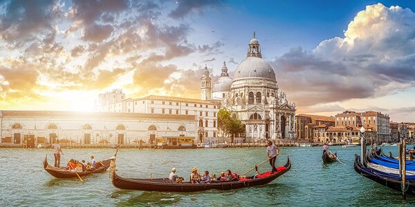 Benátky a odpolední koupání u ostrova Lido