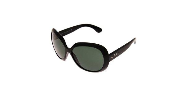 Dámské černé sluneční brýle Ray-Ban Jackie Ohh II