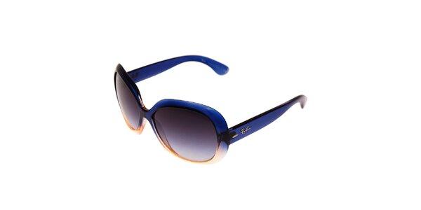 Dámské modrooranžové sluneční brýle Ray-Ban Jackie Ohh II