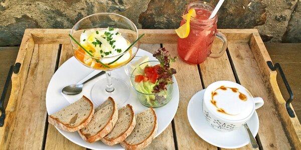 Poctivá snídaně nebo brunch uprostřed Žižkova