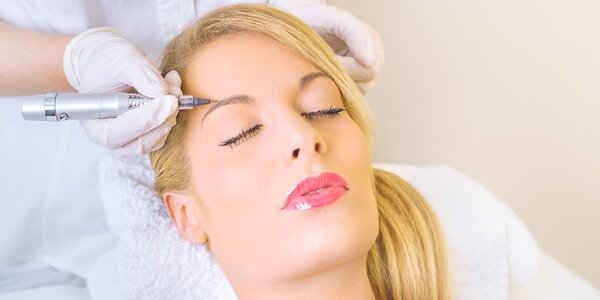 Permanentní make-up obočí, očních linek a rtů