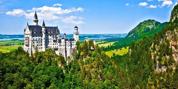 Výlet za zámky Neuschwanstein a Linderhof