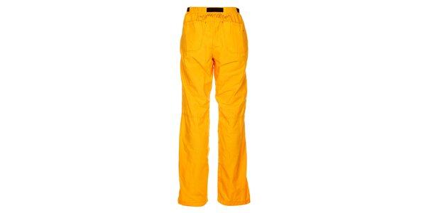 Dámské výrazně žluté outdoorové kalhoty Hannah