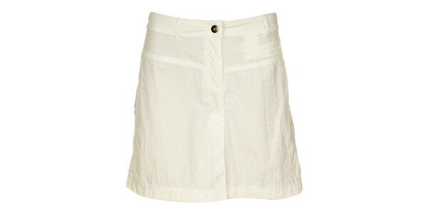 Dámská bílá sukně s výšivkou Hannah