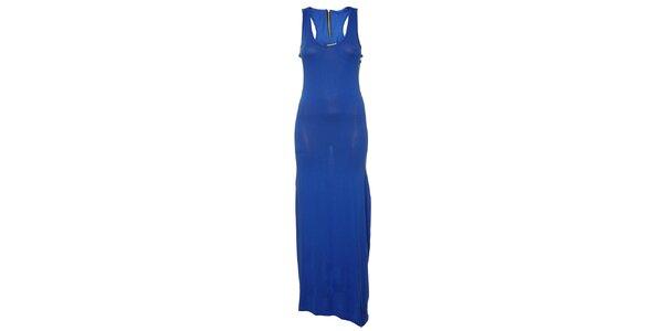 Dámské královsky modré dlouhé šaty Liza Too
