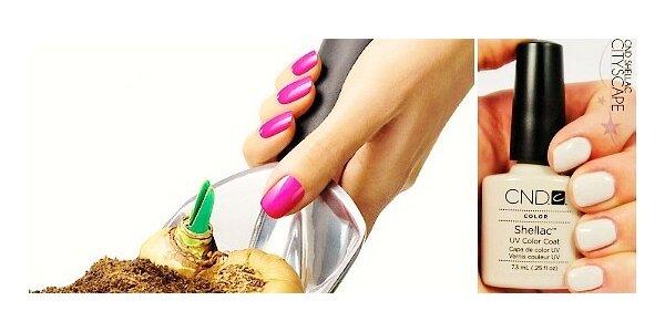 CND SHELLAC - krásné přírodní nehty na dovolenou, 14 dní bez starostí