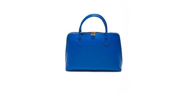 Dámská akvamarínová kabelka z kvalitní kůže Renata Corsi