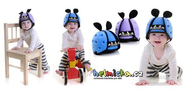 599 Kč za revoluční dětskou helmičku Thudguard®. Ochrání před úrazem hlavy