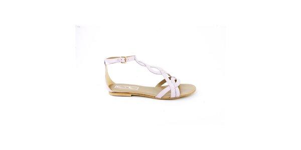 Dámské světle fialové sandálky Eye