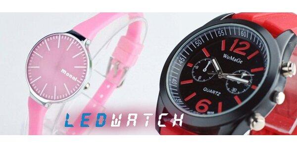 189 Kč za krásné trendy hodinky pro pány i dámy!