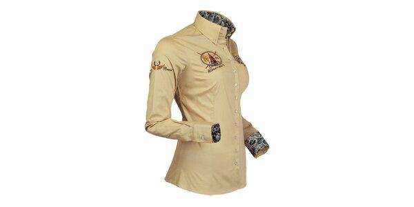 Trendy jachtařská košile Pontto
