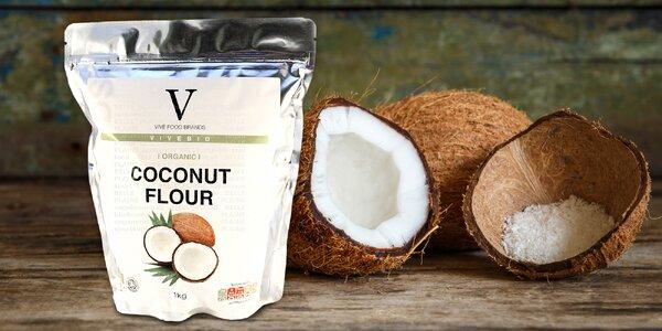 Bio kokosová mouka: 1, 2 nebo 3 kila