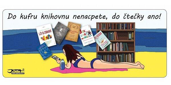 Knihy i e-knihy na dovolenou