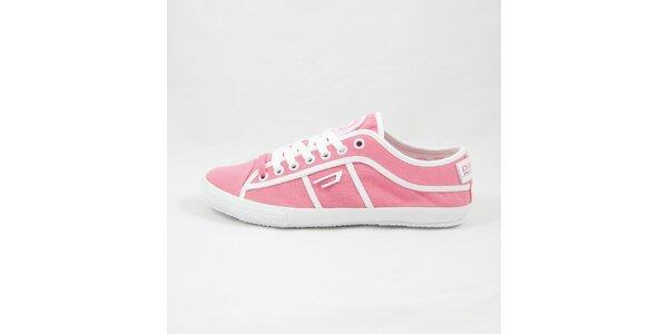 Dámské růžové tenisky Diesel