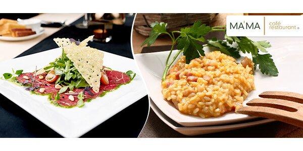 Cokoli z jídelního lístku MA'MA Café Restaurant