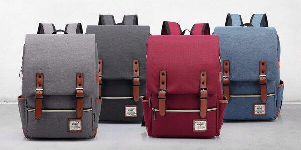 Udělejte si radost s trendy retro batohem