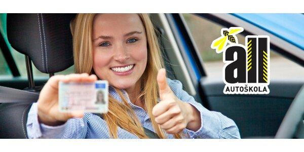 Získejte řidičák sk. B jen za 6999 Kč