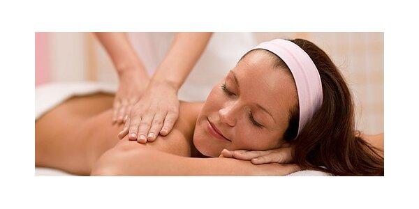 Rekondiční olejová masáž v délce 45 minut