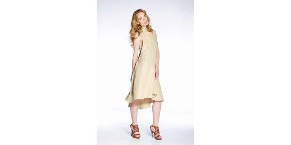 Dámské béžové šaty Gene