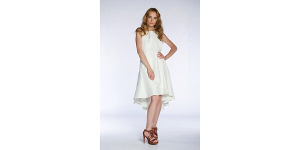 Dámské sněhově bílé šaty Gene