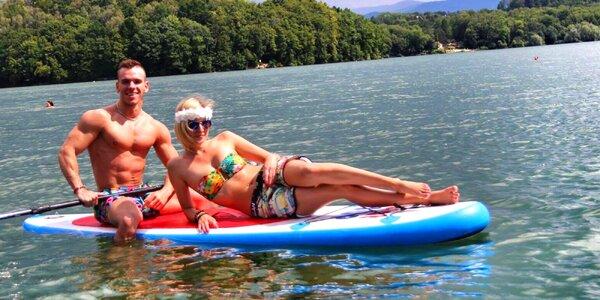 Až 90 min. na paddleboardu na Žermanické přehradě