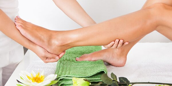 Relaxační masáž pro unavené nohy