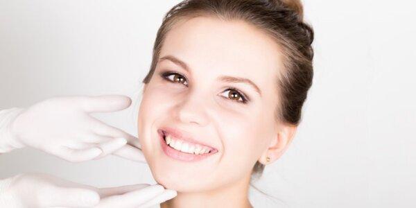 Zdravotnické ošetření obličeje s čistícím efektem