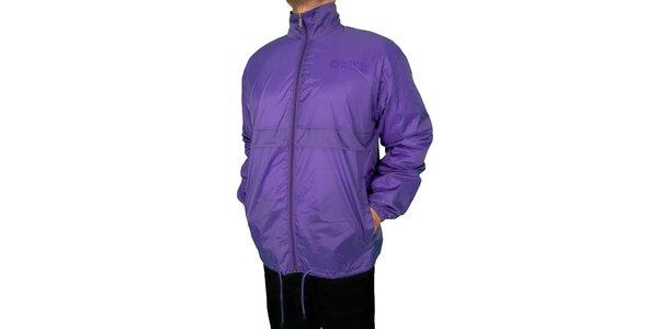 Pánská světle fialová sportovní bunda Southpole