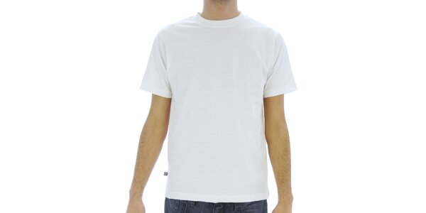 Pánské bílé bavlněné tričko Southpole