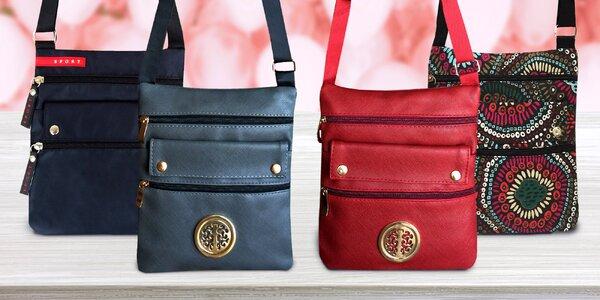 Praktické crossbody kabelky a tašky