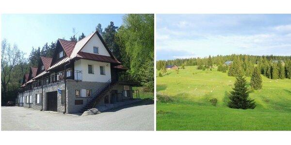 Týdenní pobyt v chatkách až pro 6 lidí v Českomoravské vrchovině