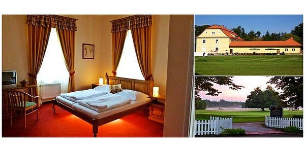 3-denní pobyt pro dva v příjemném prostředí lázeňského města Bechyně