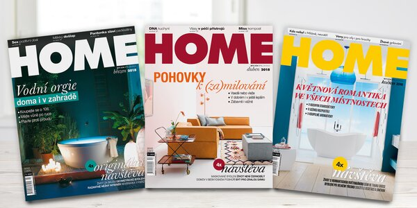 Předplatné časopisu Home: inspirace pro váš domov
