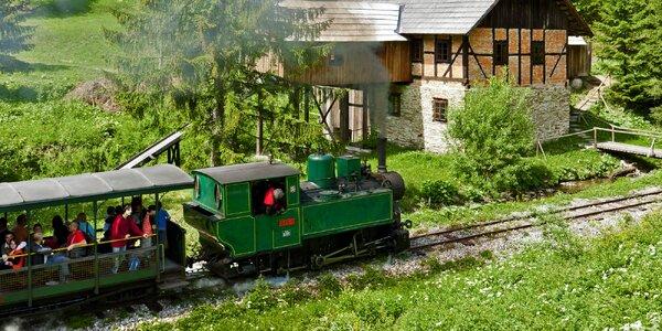 Dovolená na Oravě poblíž historické lesní železnice