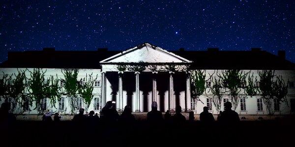 Magická noc: Videomapping na zámku Kačina