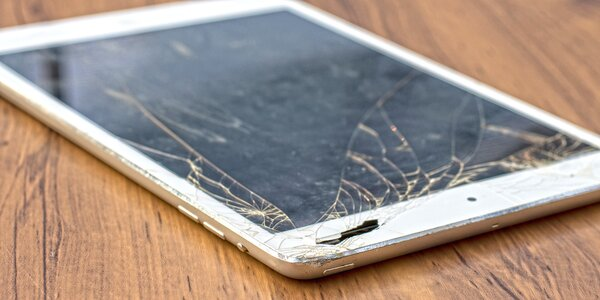 Výměna dotykového skla na iPadu za zbrusu nové