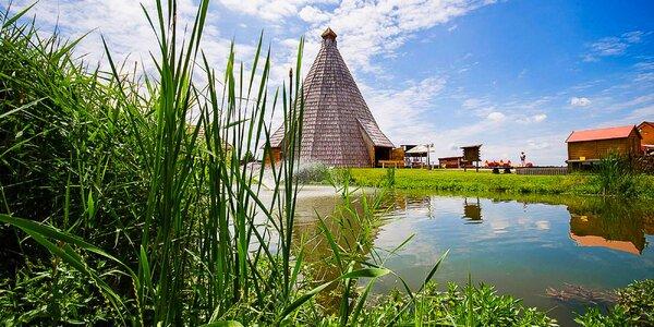 Pobyt v resortu Vigvam s wellness a polopenzí