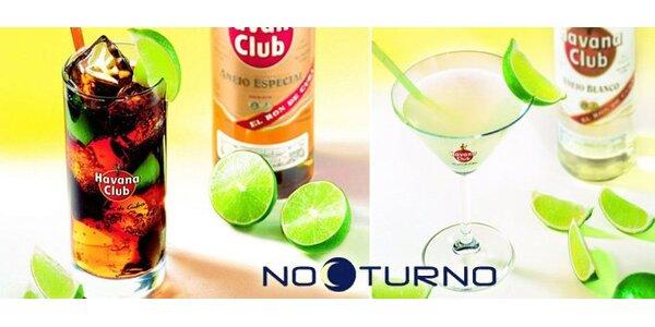 69 Kč za DVA míchané nápoje - Cuba Libre a Daiquri v baru Nocturno!