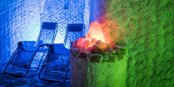 Slaný dýchánek: relaxace v solné jeskyni
