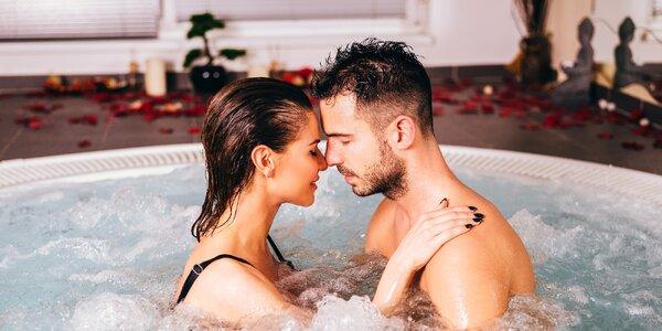 90 min. romantiky ve vířivce a solné jeskyni