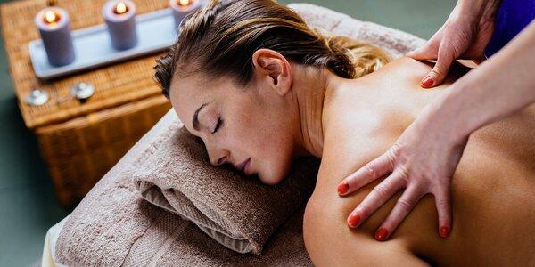 Uvolňující aroma masáž na 30 nebo 50 minut